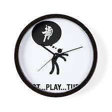 Marching-Band---Tuba-A Wall Clock