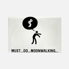 Moonwalking-A Rectangle Magnet