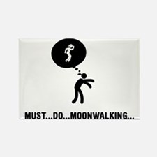Moonwalking-C Rectangle Magnet
