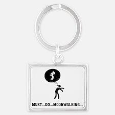 Moonwalking-C Landscape Keychain