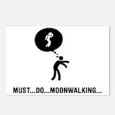 Moonwalking-C Postcards (Package of 8)