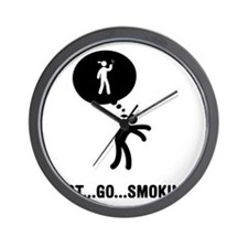 Smoking-C Wall Clock