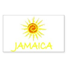 Jamaica Rectangle Decal