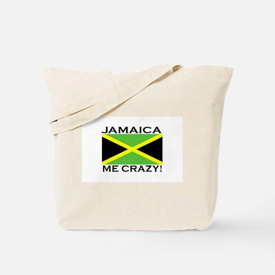 Jamaica Me Crazy! Tote Bag