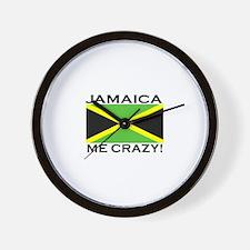 Jamaica Me Crazy! Wall Clock
