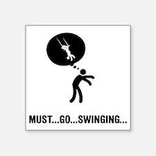 """Trapeze-A Square Sticker 3"""" x 3"""""""