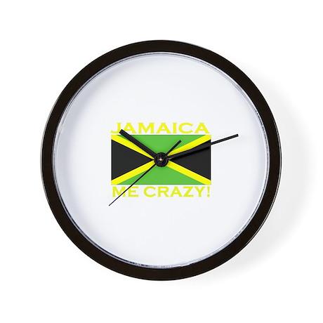 Jamaica Me Crazy! (Dark) Wall Clock