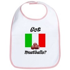 Cute Meatballs Bib