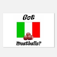 Cute Meatball Postcards (Package of 8)
