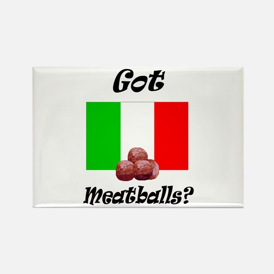 Cute Meatball Rectangle Magnet (10 pack)