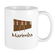 marimba percussion musical instrument Mugs
