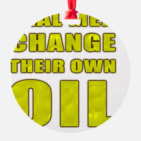 Oil Change Ornament