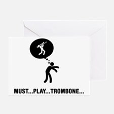 Trombone-Player-C Greeting Card