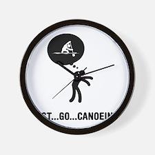 Canoe-Sprint-A Wall Clock