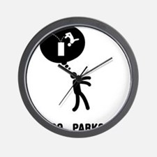 Parkour-C Wall Clock