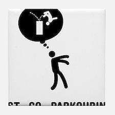 Parkour-C Tile Coaster