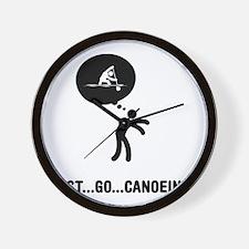 Canoe-Sprint-C Wall Clock