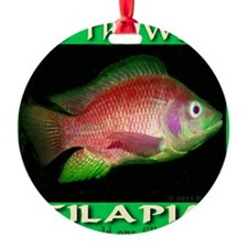 Feed The World Tilapia Ornament