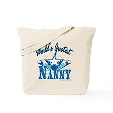 Greatest Nanny Tote Bag