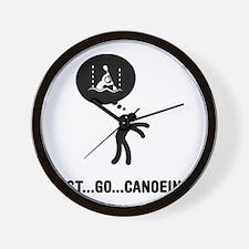 Canoe-Slalom-A Wall Clock