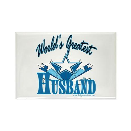 Greatest Husband Rectangle Magnet (10 pack)
