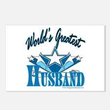 Greatest Husband Postcards (Package of 8)