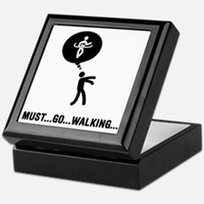 Race-Walking-C Keepsake Box