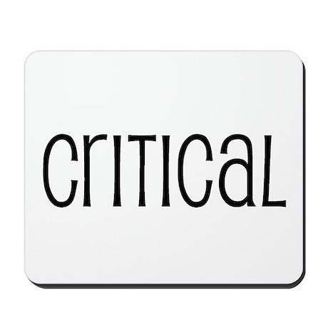 Critical Mousepad