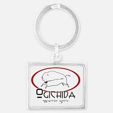 Ogichida Buffalo Logo Landscape Keychain