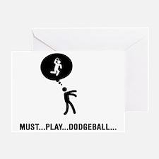 Dodgeball-C Greeting Card