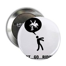 """Equestrian-C 2.25"""" Button"""