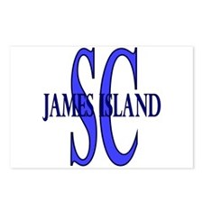 James Island South Carolina Postcards (Package of
