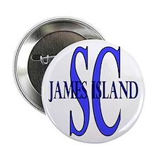 James Island South Carolina Button