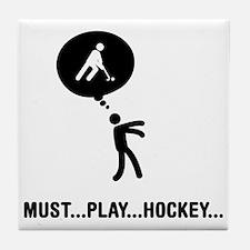 Field-Hockey-C Tile Coaster