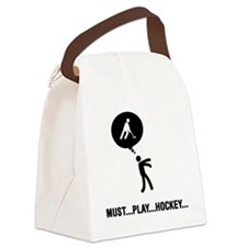 Field-Hockey-C Canvas Lunch Bag