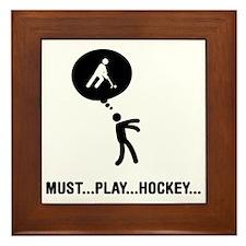 Field-Hockey-C Framed Tile