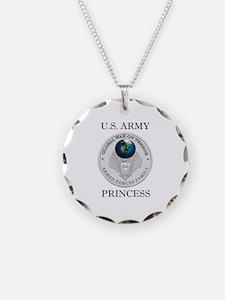 Cute Army princess Necklace