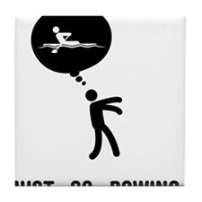 Rowing-C Tile Coaster