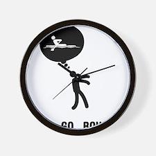 Rowing-C Wall Clock