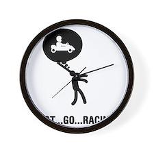 Go-Karting-C Wall Clock