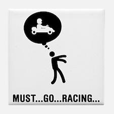 Go-Karting-C Tile Coaster