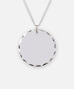Go-Karting-D Necklace Circle Charm