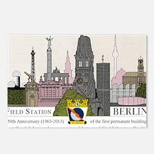 Field Station Berlin SKyl Postcards (Package of 8)