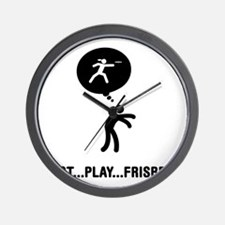 Frisbee-A Wall Clock