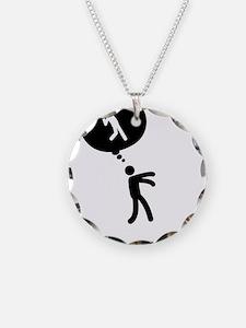 Shot-Put-C Necklace Circle Charm