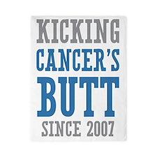 Cancers Butt Since 2007 Twin Duvet