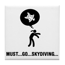 Skydiving-A Tile Coaster