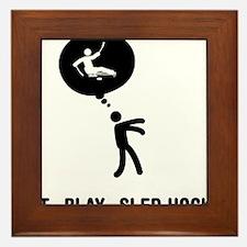Sled-Hockey-C Framed Tile