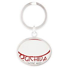 Ogichida Buffalo Logo White Oval Keychain