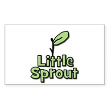 Little Sprout Rectangle Decal